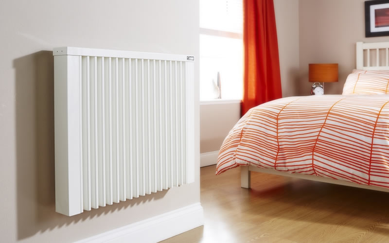 new radiator installation by makewarm