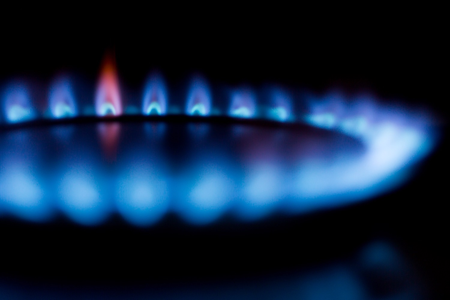 gas flame image