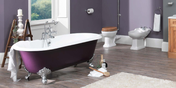 traditional bathroom installation by our plumber in manchester